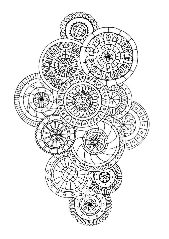 Coloring sheet patterns Download .  Print