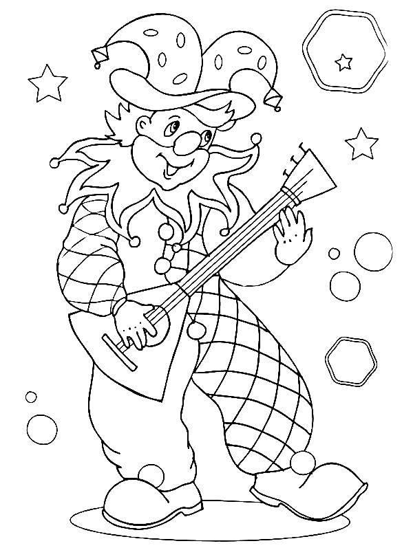 Coloring sheet circus Download .  Print