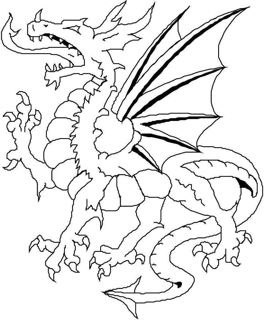 Coloring sheet Dragons Download games, cat, cat, Angela.  Print ,coloring,