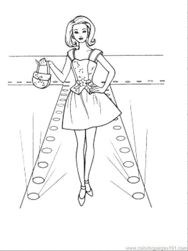 Coloring sheet Dresses Download .  Print
