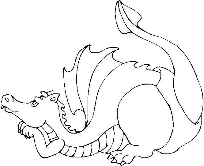картинка раскраска динозавры и драконы праздник желаем счастья