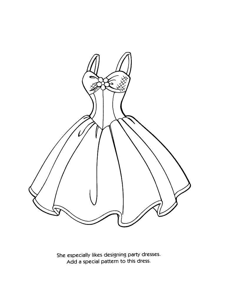 Раскраски накидкой, Раскраска Барби с накидкой Платья.