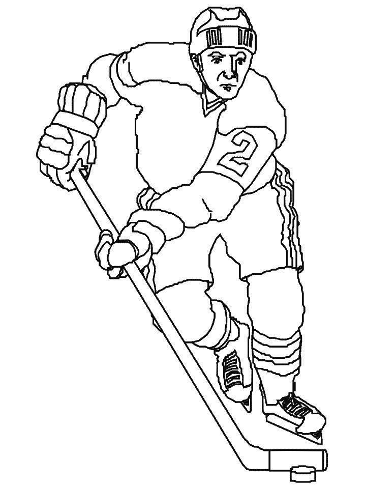 коммуникации хоккеист рисунок карандашом сказал