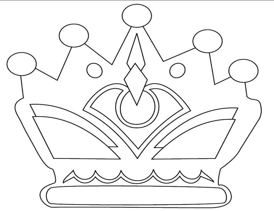 Coloring pages Queen Скачать .  Распечатать