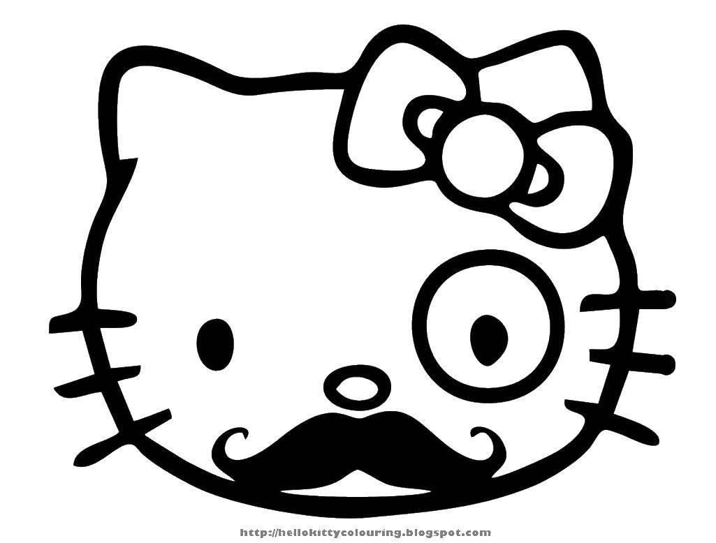 Раскраски Hello Kitty, Раскраски на праздники.