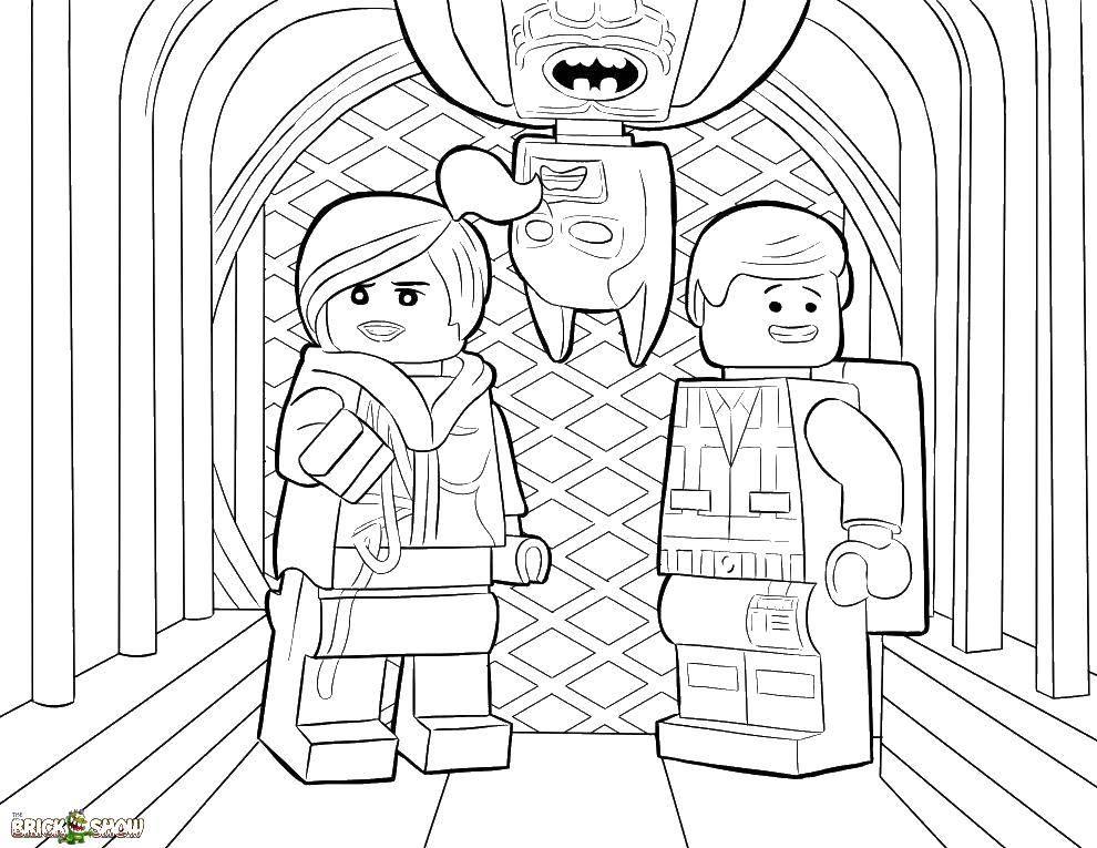 Coloring sheet LEGO Download Technique.  Print ,coloring,