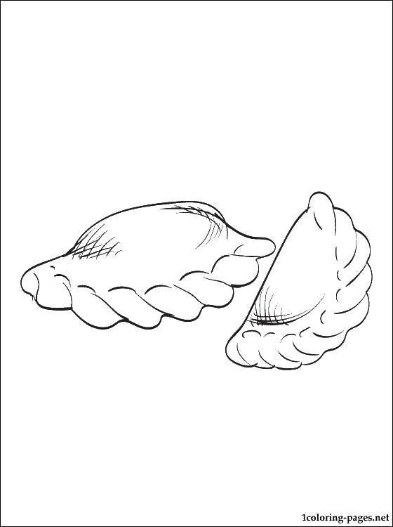 Картинка для детей вареники