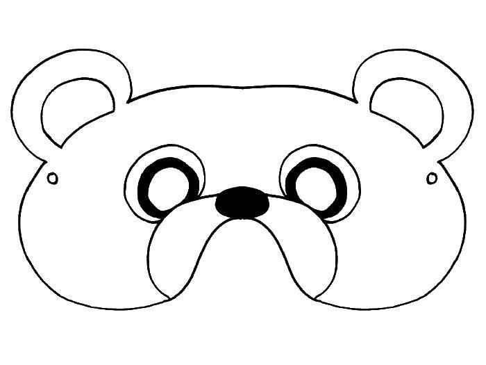 еще маска медведя раскраска на голову из бумаги распечатать кобзона показала фото
