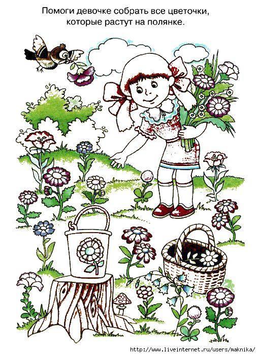 Coloring sheet plants Download .  Print