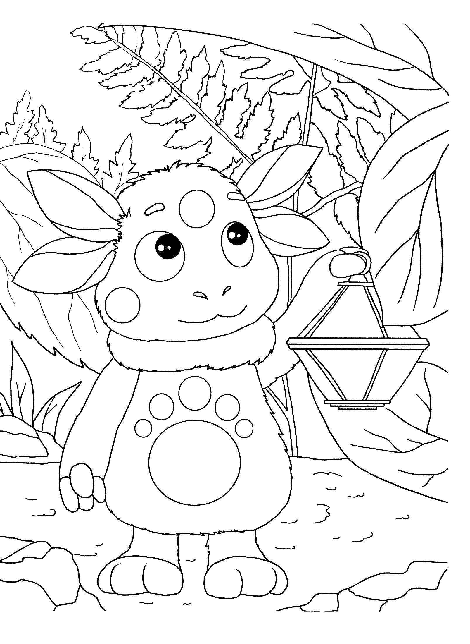 Coloring sheet Luntik Download children, child.  Print ,children,