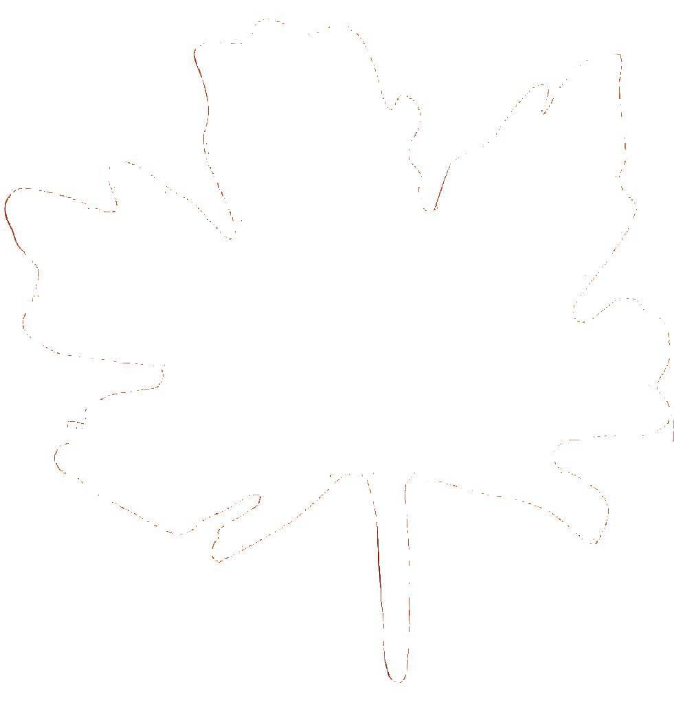 Раскраски Раскраска Дерево без листьев Контуры листьев ...