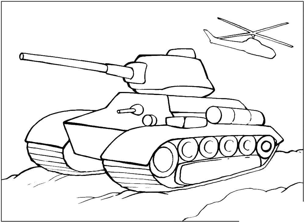 Coloring sheet weapons Download .  Print