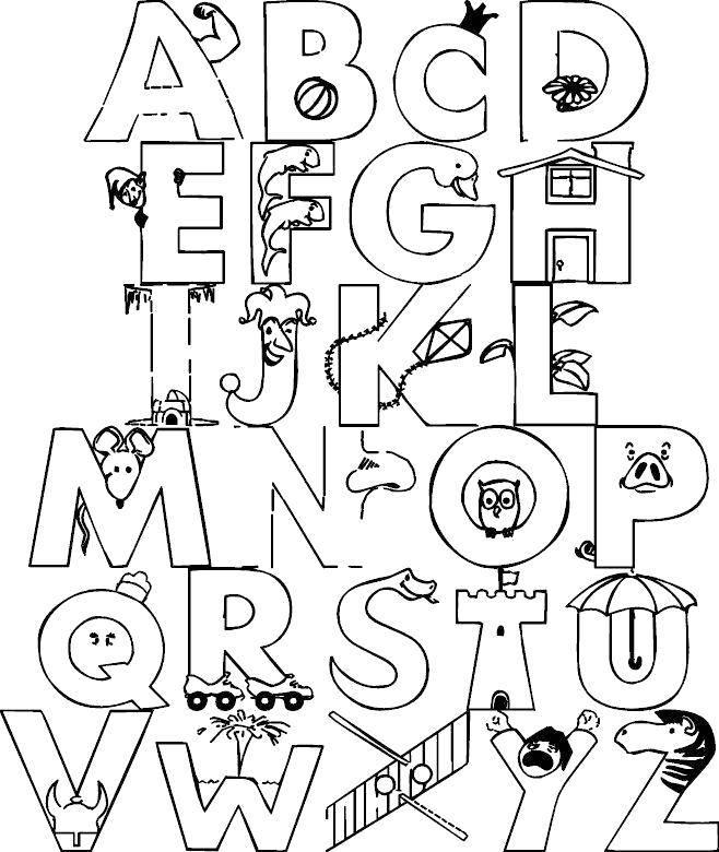 взаимопонимания алфавит немецкий раскраска сборки
