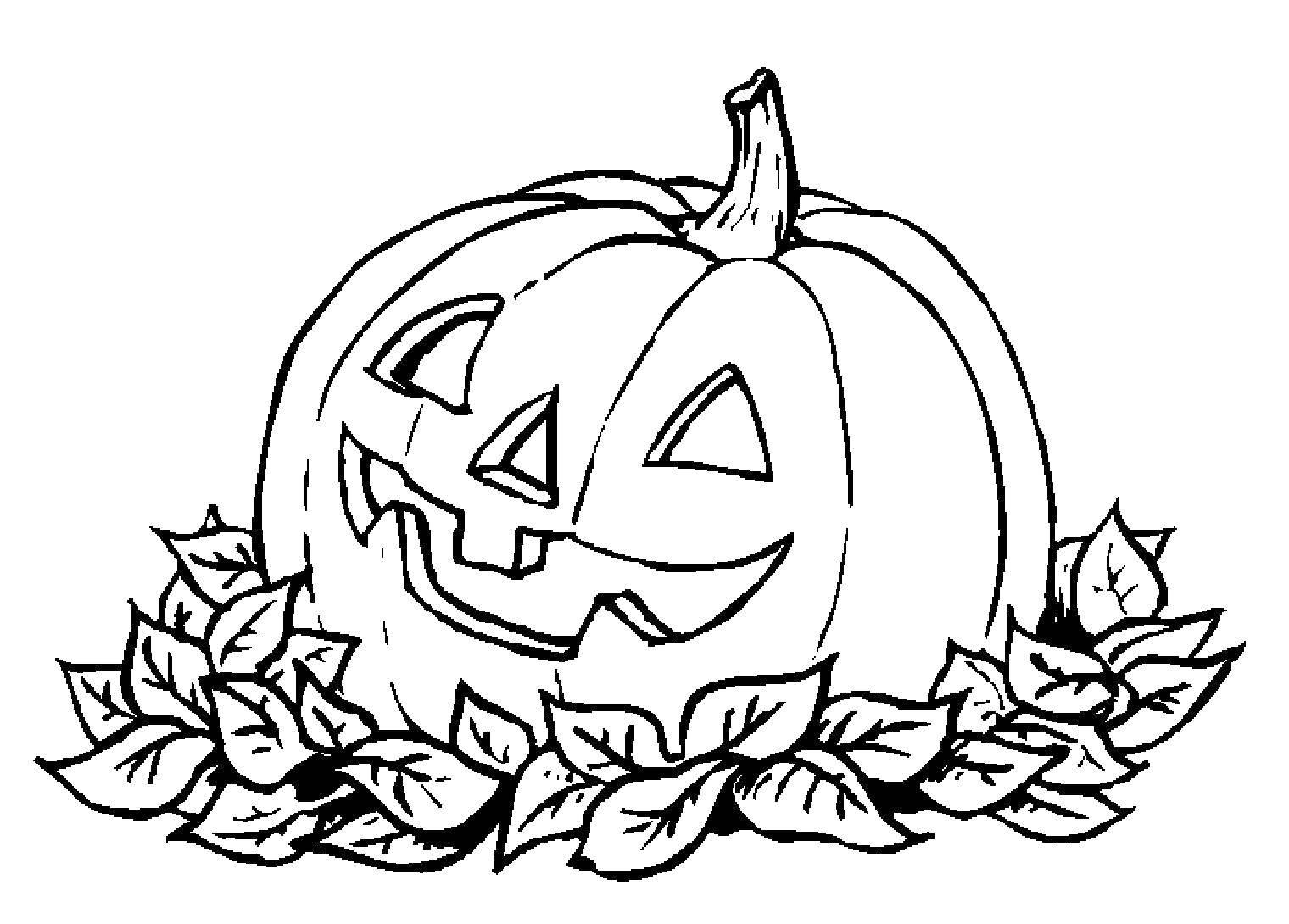 первую раскраска на распечатку с рисунком ведьмы тыквы год из-за