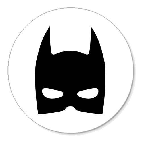 Раскраска Маска бетмона Скачать ,маска, бэтмен,.  Распечатать