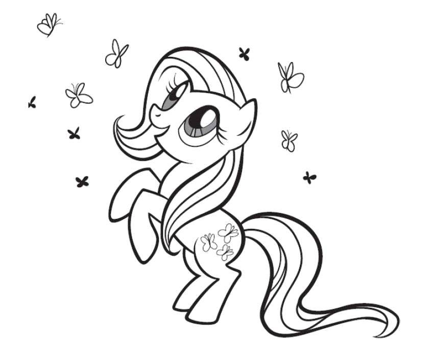 Coloring sheet my little pony Download winter, snow, dog.  Print ,winter,