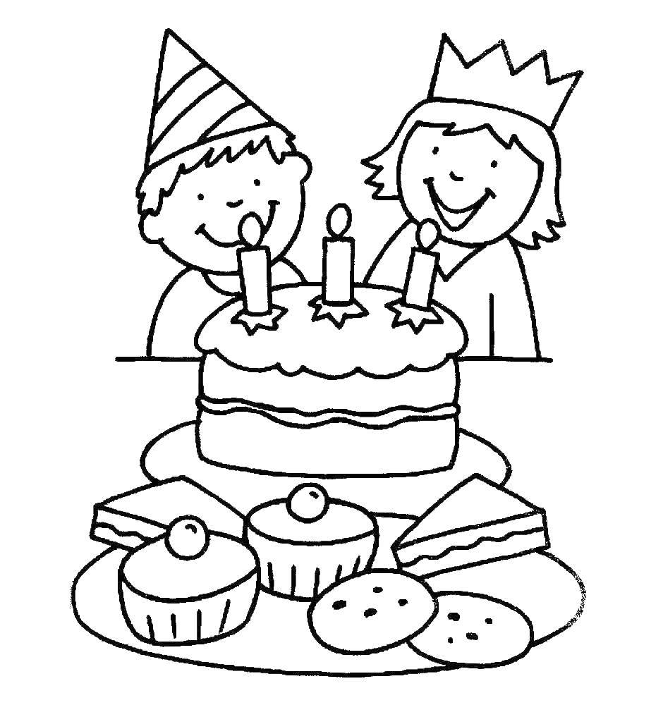 Раскраска на день рождения сестре 17 лет
