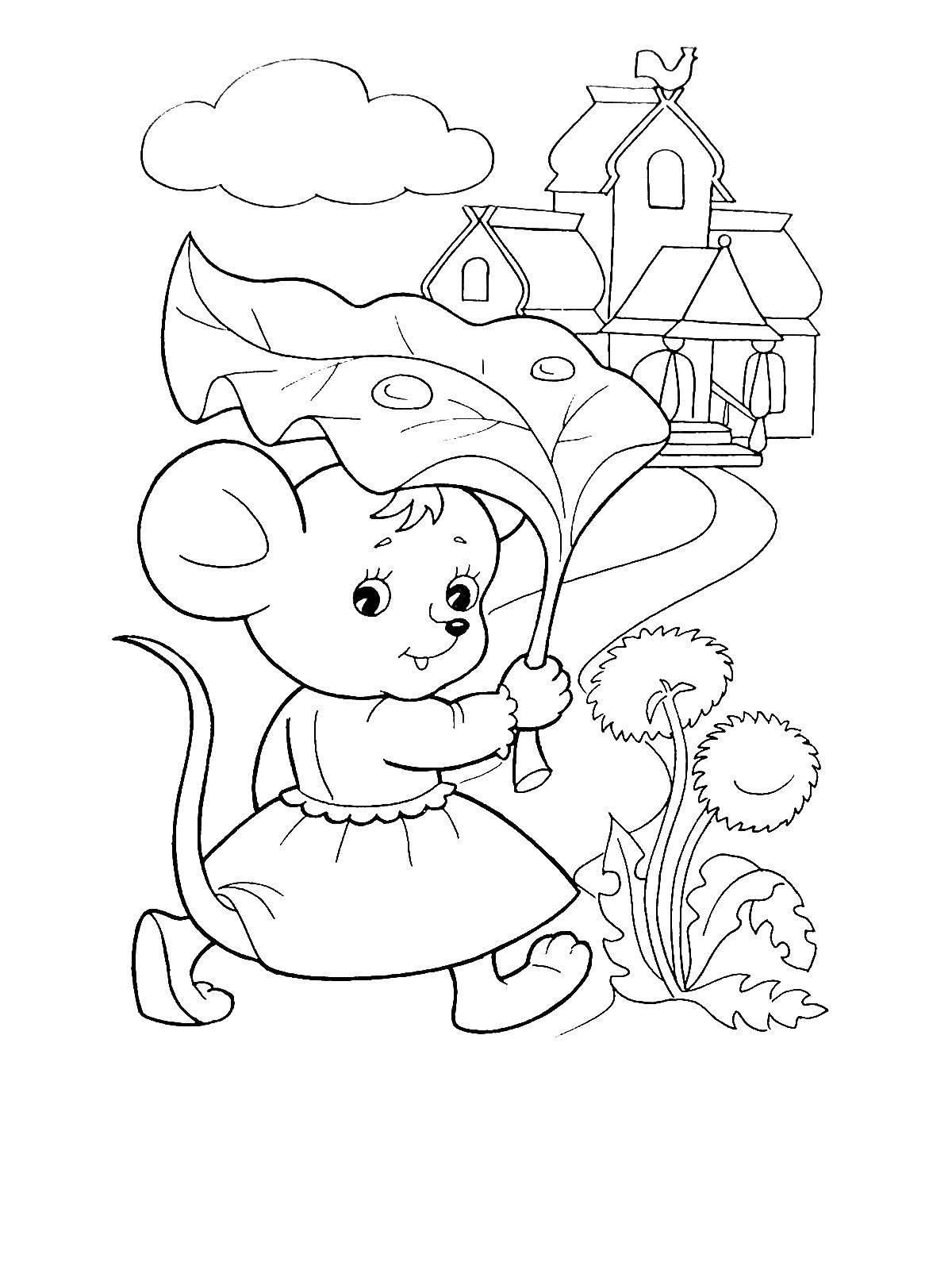 Разукрашки По Сказкам Для Малышей