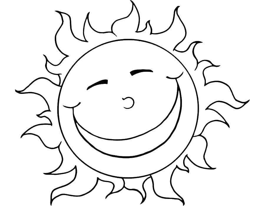Coloring sheet weather Download .  Print