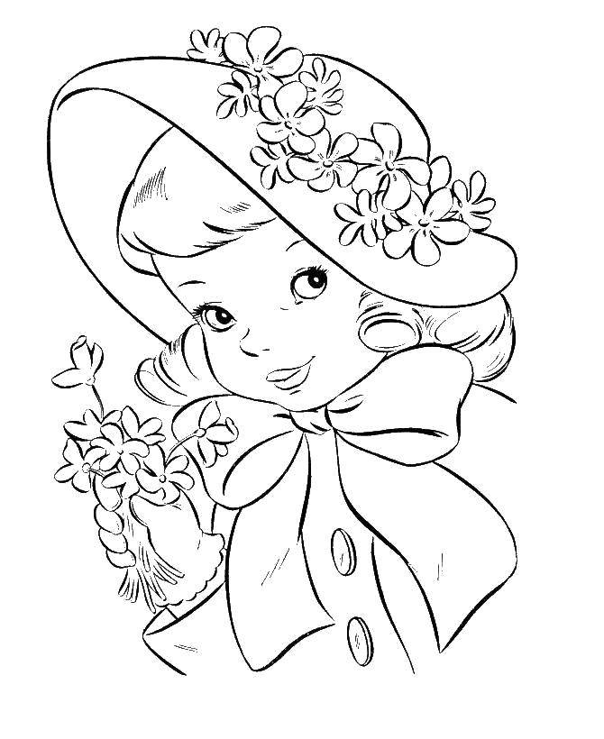 Coloring sheet children Download .  Print