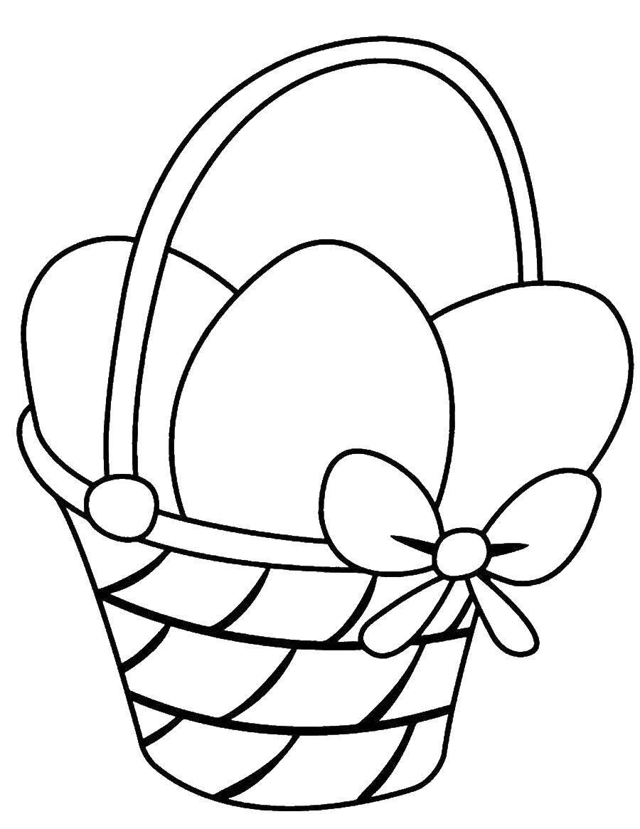 Coloring sheet Easter eggs Download .  Print