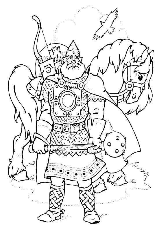 Coloring sheet heroes Download .  Print