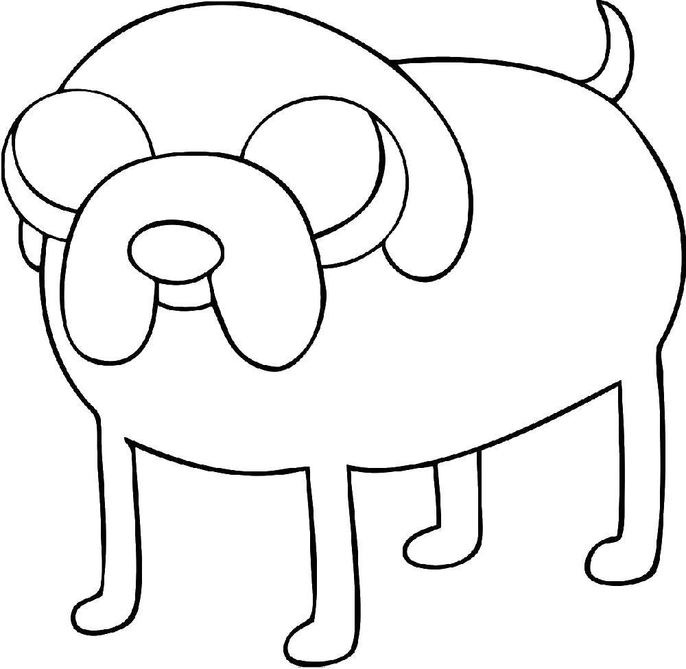 Coloring sheet Adventure Time Download .  Print