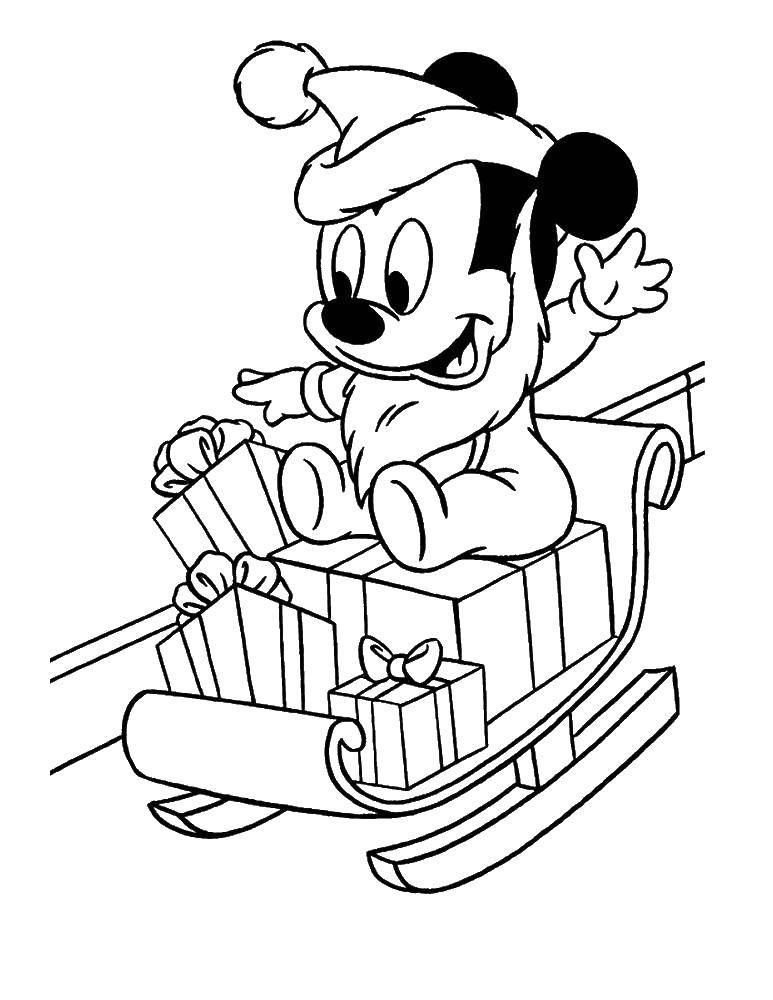 Coloring sheet Mickey mouse Download rockets, spaceships, space.  Print ,rockets,