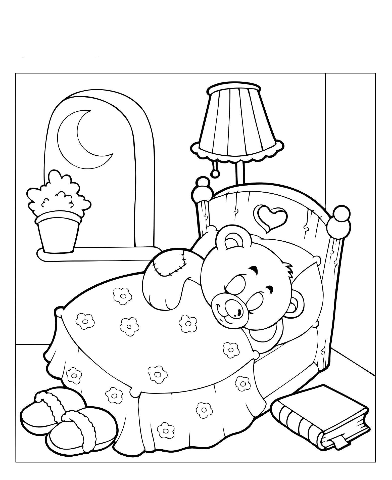 Раскраски Раскраска Новогодние печеньки Еда, Раскраски ...