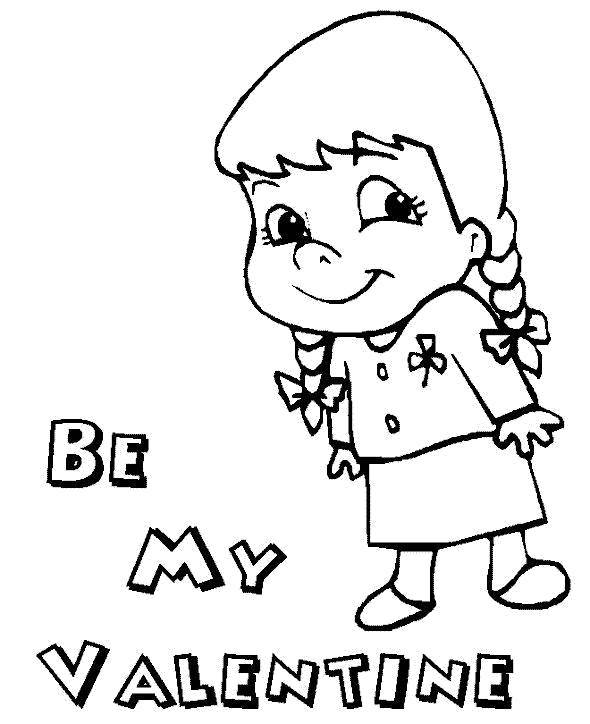 Coloring sheet St Valentins day Download cartoons, children.  Print ,Fairy cartoons, movies,