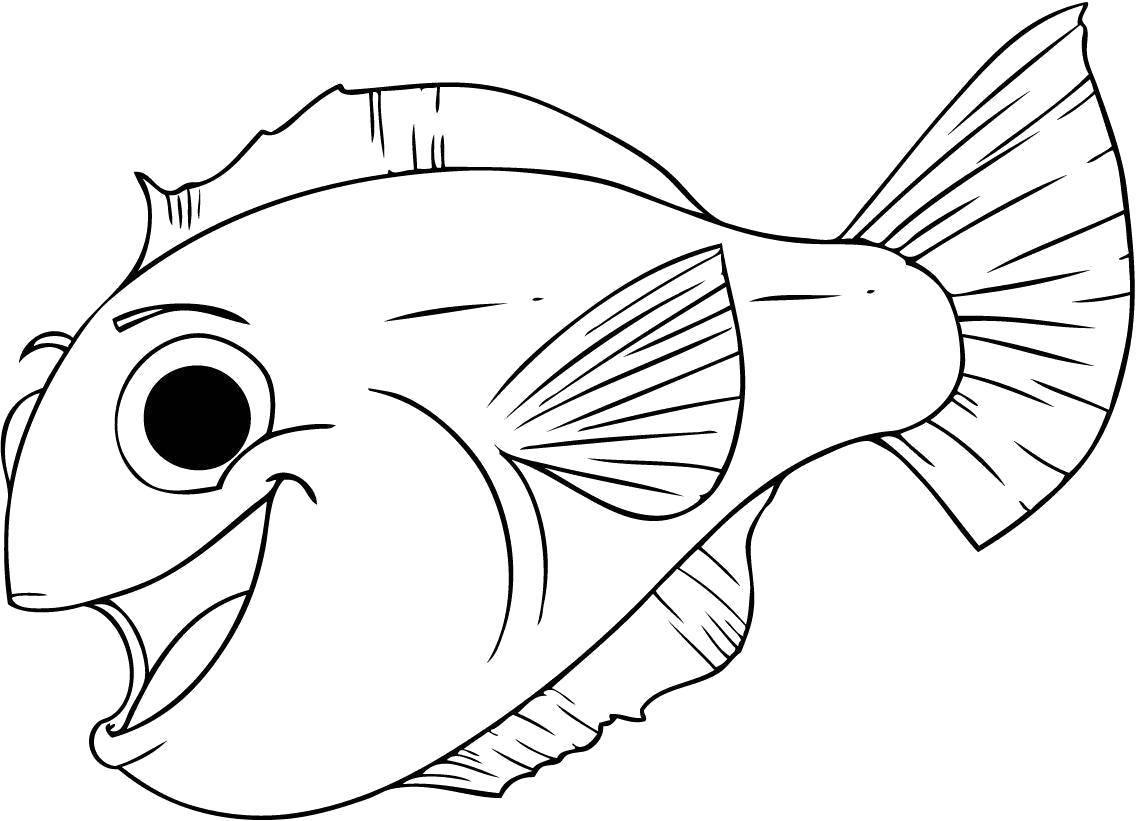 морские рыбки раскраска входит рецепт