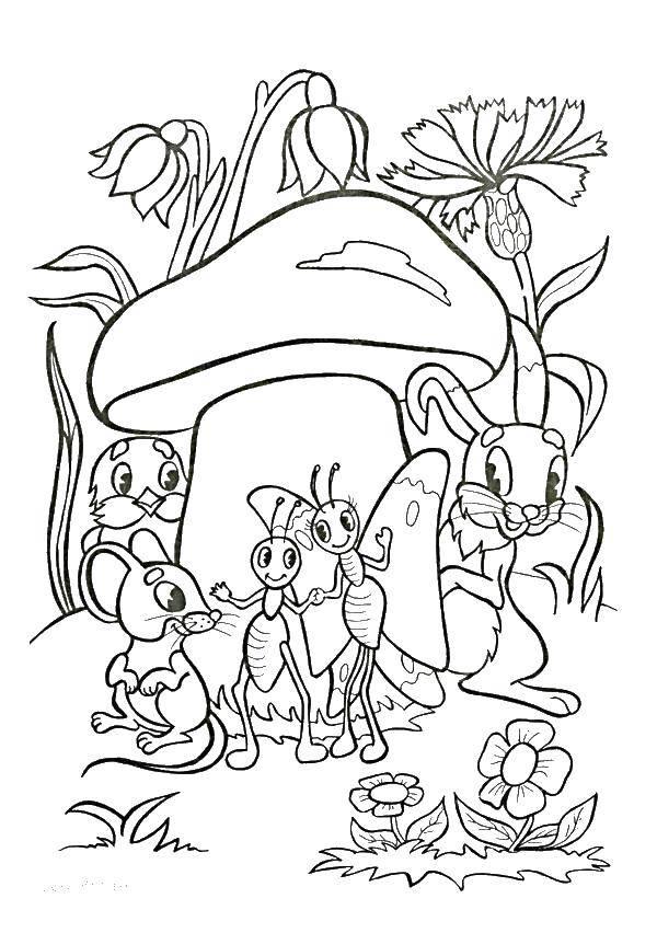 Coloring sheet Tales Download ,cartoons, children,.  Print