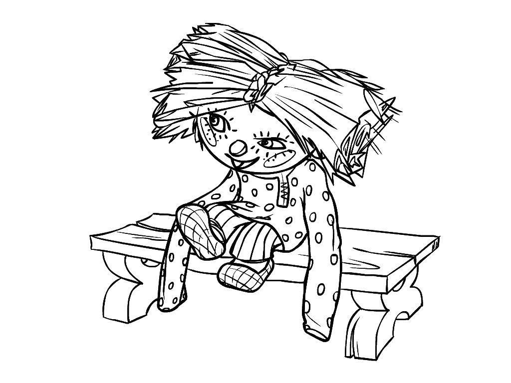 Раскраска Домовёнок кузя Скачать ,Сказки, Домовёнок Кузя,.  Распечатать