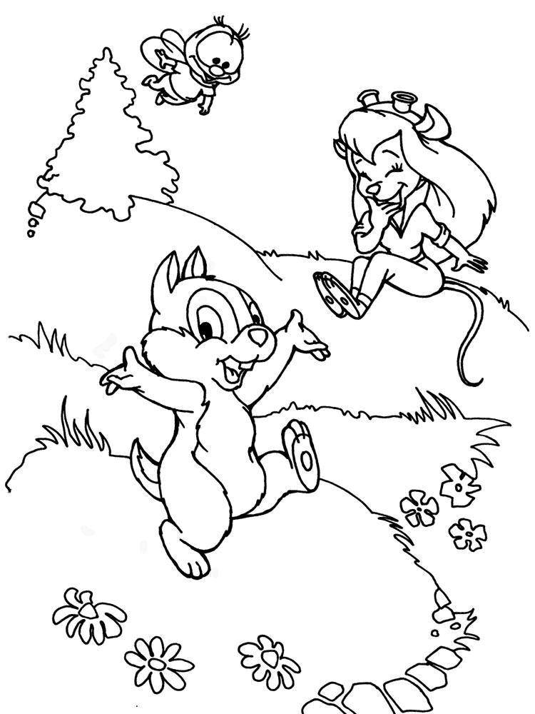 Coloring sheet chip and Dale Download religion, China.  Print ,Religion,