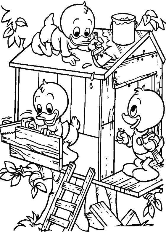 Coloring sheet ducktales Download .  Print