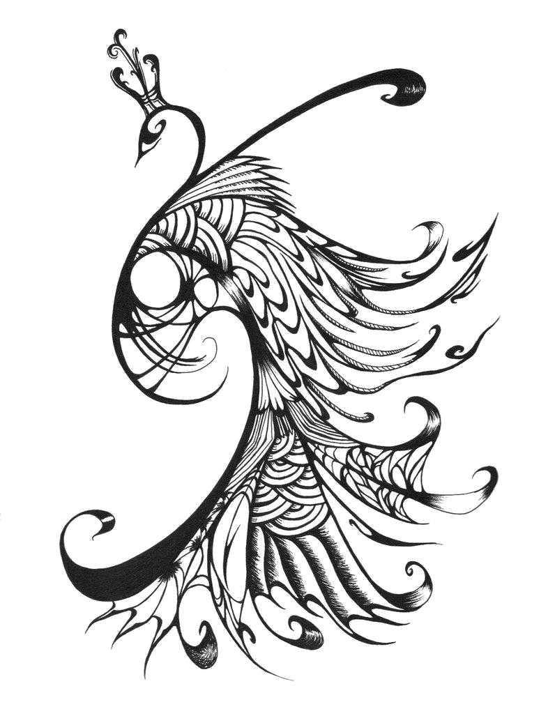 Раскраски птиц, Раскраска Утенок Контуры для вырезания птиц.