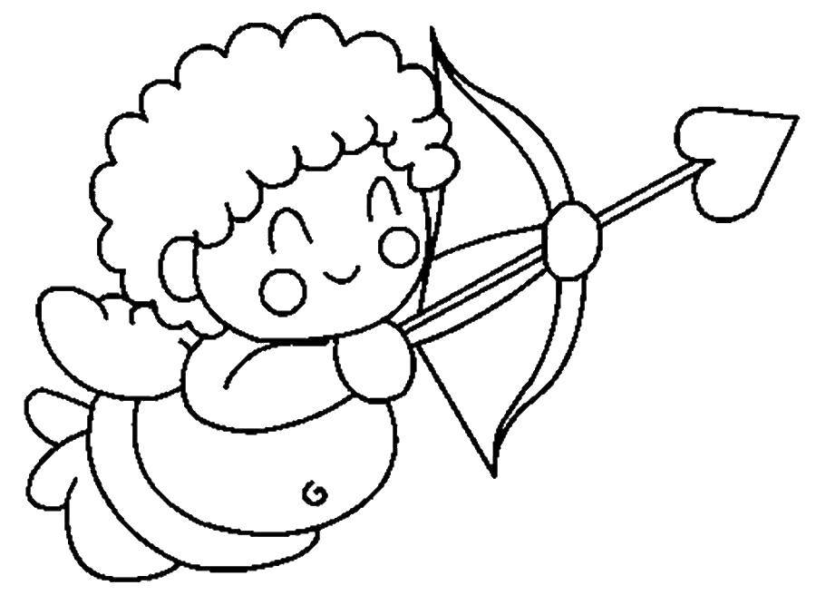Coloring sheet angels Download .  Print