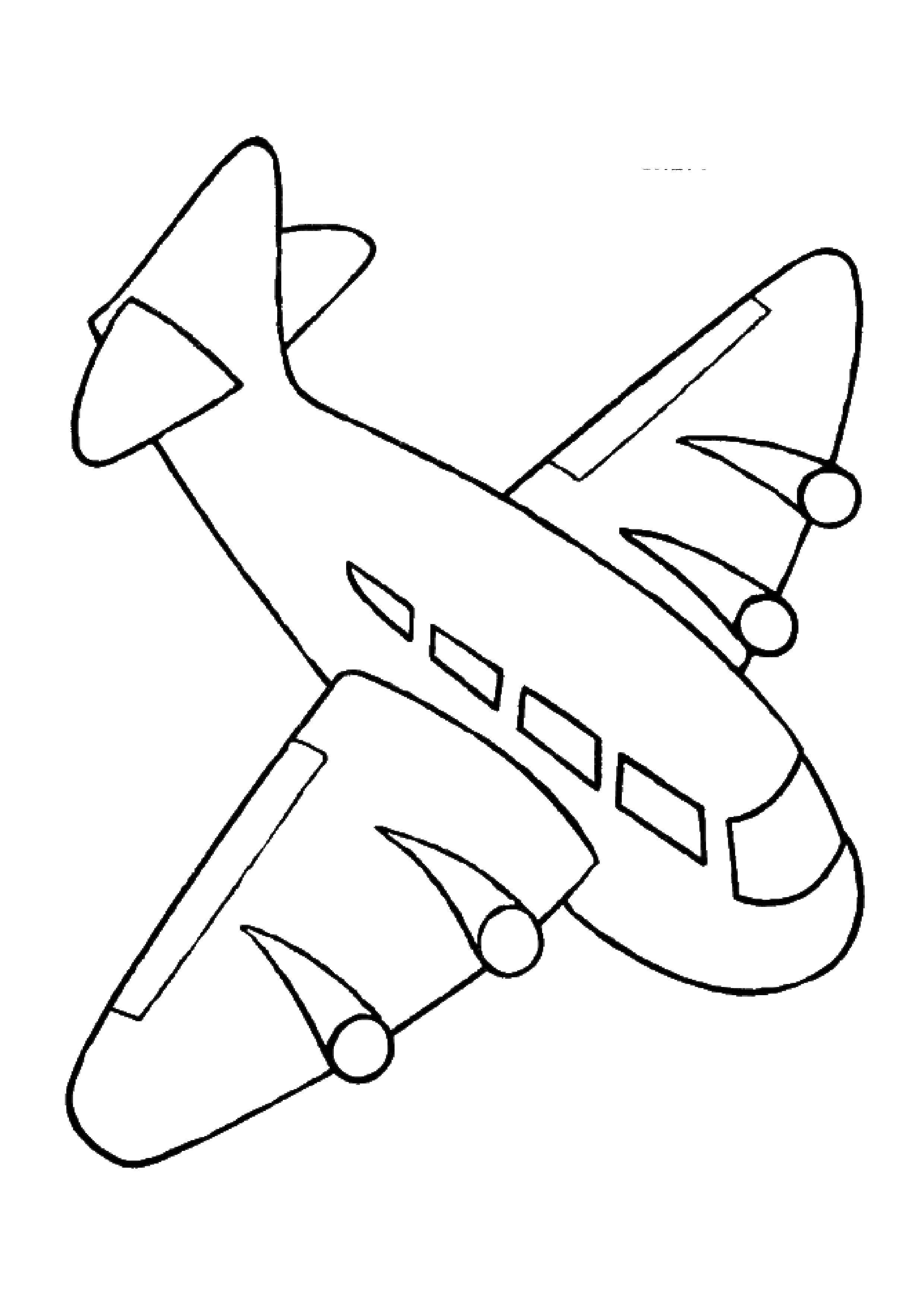 друзья, картинка самолет раскрасить оказывает услуги, курсы-ип
