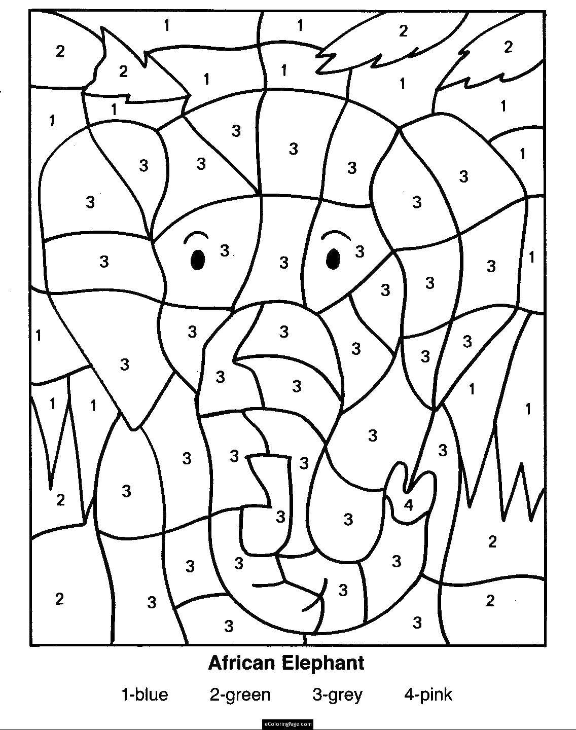 Coloring sheet By the numbers Download .  Print