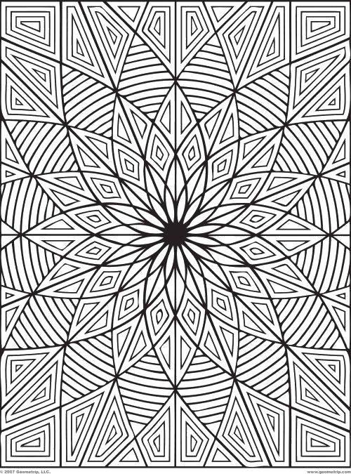 Раскраски Раскраска Цветочный узор Узоры с цветами ...