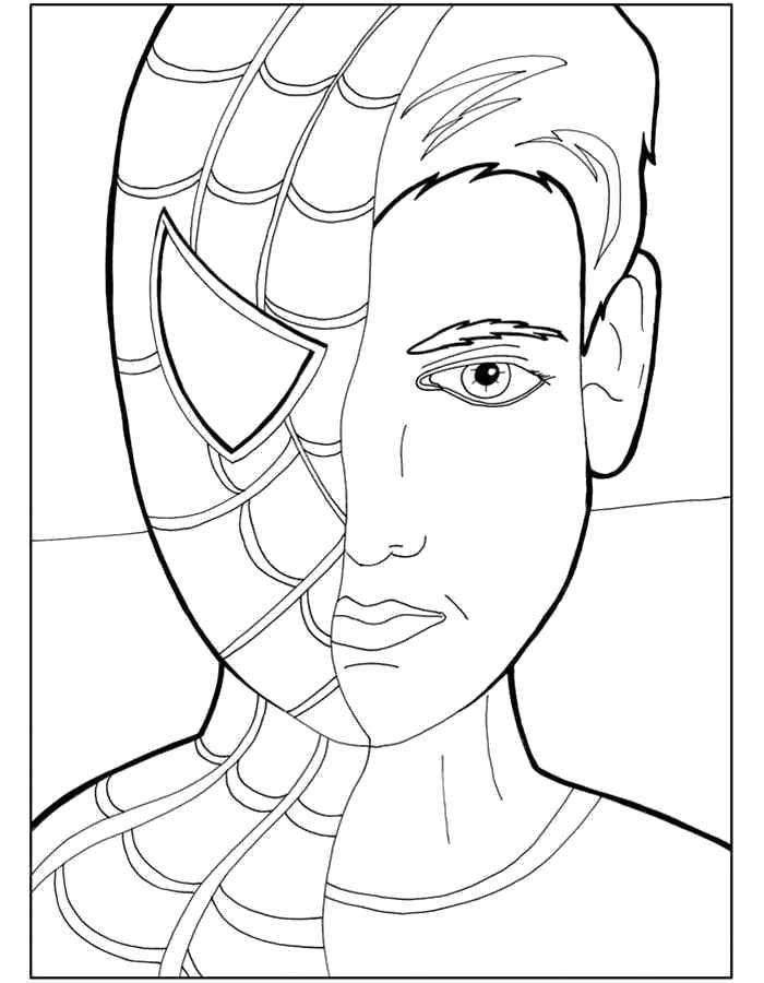 Coloring pages Comics Скачать .  Распечатать