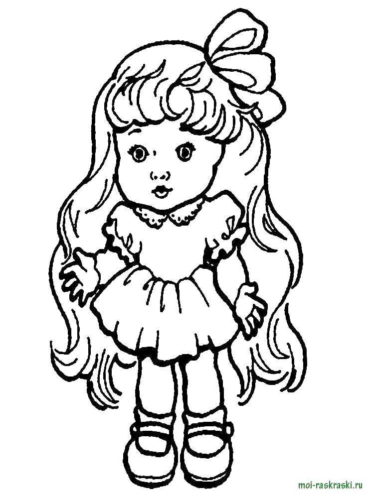 Раскраски барби, Раскраска Барби с короной Барби.