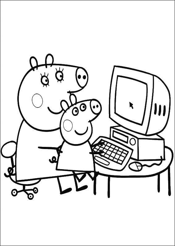 Coloring sheet Cartoon characters Download Princess , girl, castle,.  Print