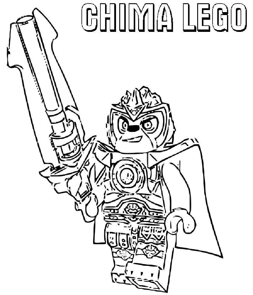 Coloring sheet LEGO Download Dima, table.  Print ,friendship,