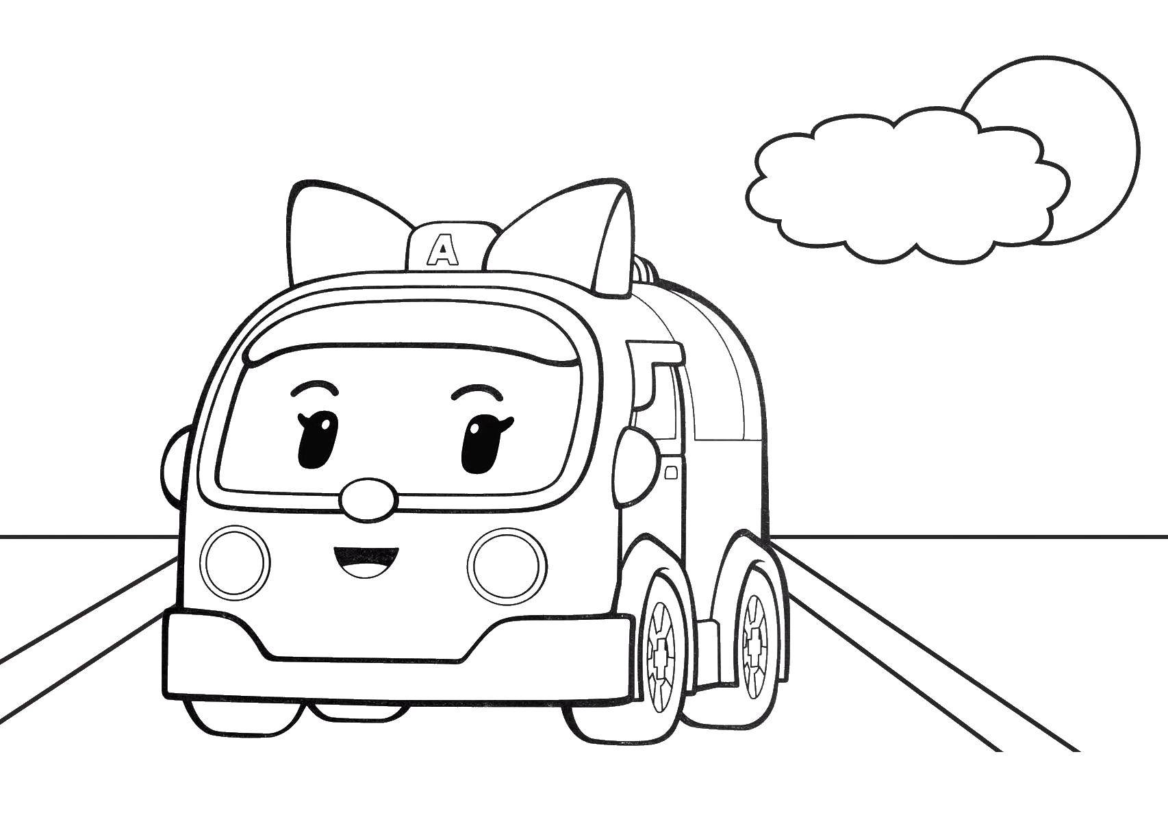 Coloring sheet robocar poli Download Rome.  Print ,coloring,