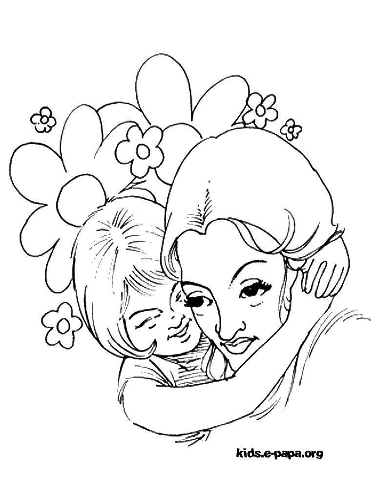 Раскраски девочек, Раскраска Прицесса анна принцесса эльза ...