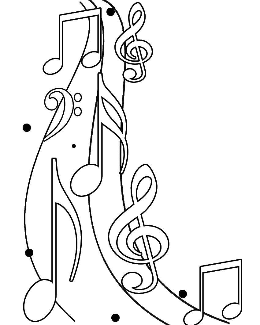 Coloring sheet music Download Jesus, the Bible.  Print ,the Bible,