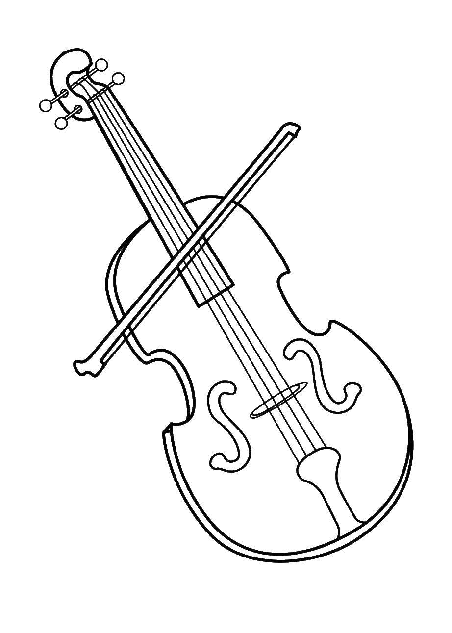 Coloring Cello Download Music, instrument, musician, note,.  Print