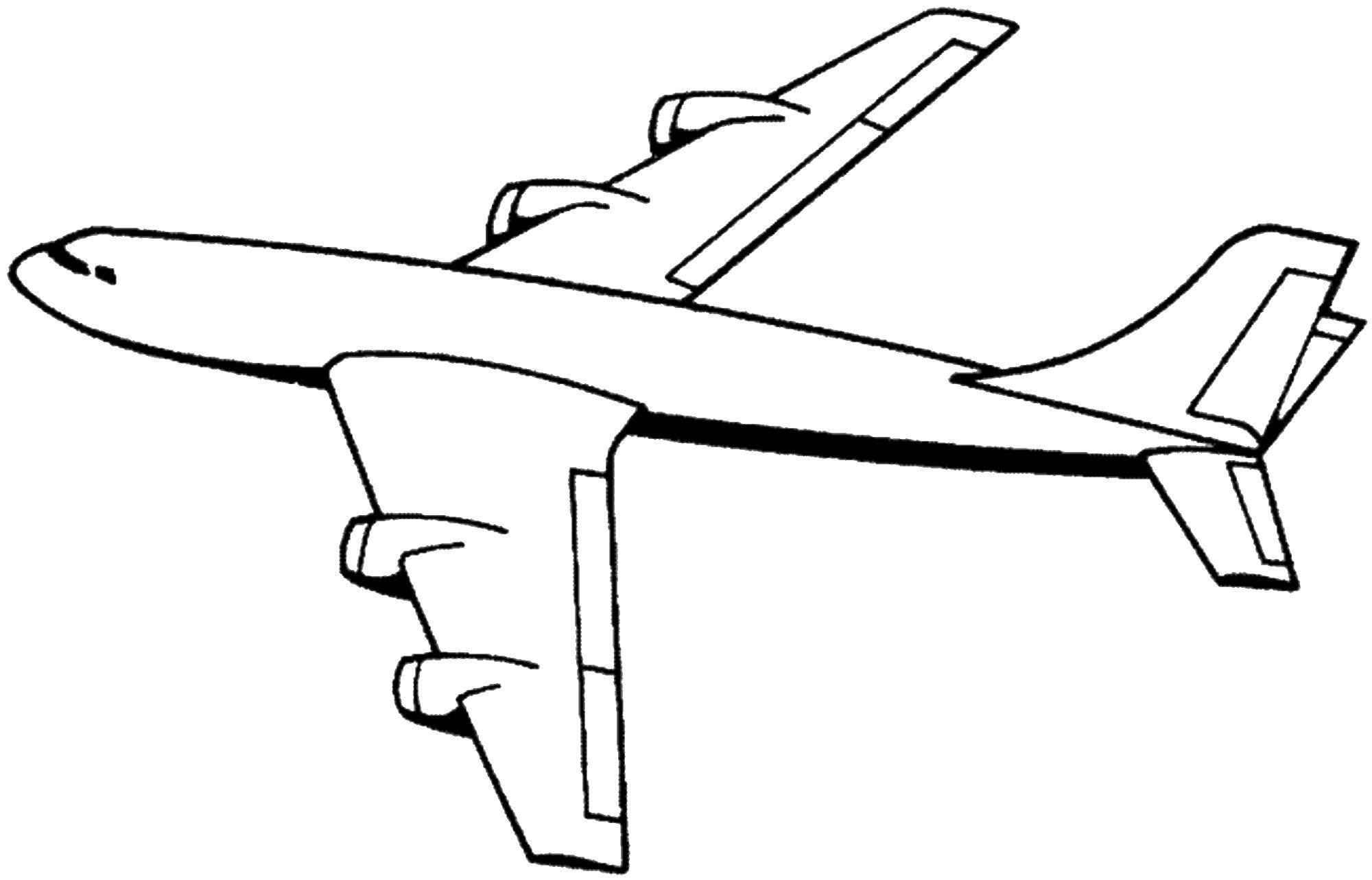 этого, самолет черно белый рисунок нас