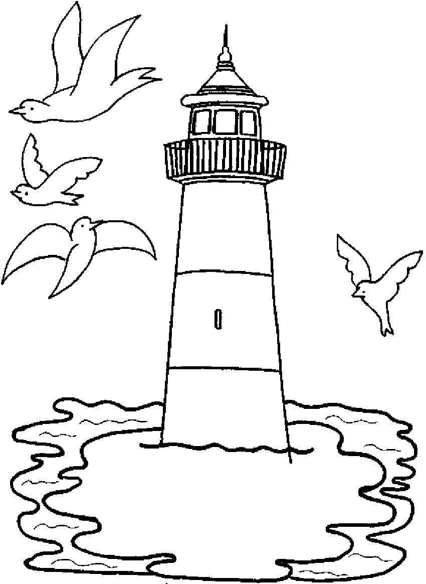 Coloring sheet sea Download .  Print